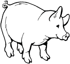 Farm Animal Colouring Pages Print Animals Free Coloring