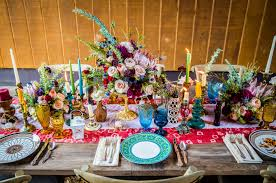 Image For Bright Bohemian Rustic Wedding Inspiration From North Carolina