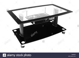 100 Living Room Table Modern Black Glass And Aluminium Chrome Coffee Table Table For The