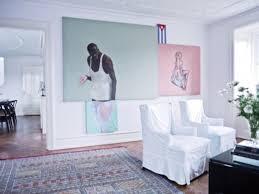 100 Apartment Interior Decoration Bright Design By Nina Nyborg Wall Painting