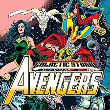 Avengers Galactic Storm Digital Comics