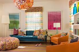 vintage colorful living room interior desig 4197 Home Designs