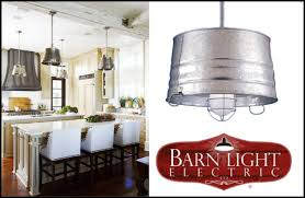 endearing pendant lighting in a farmhouse kitchen of