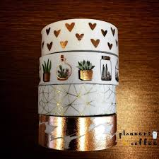 Halloween Washi Tape Ideas by I U0027m A Bit Obsessed With These Rose Gold Washi Tapes From Hobby