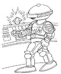 Power Ranger Coloring Page Pages