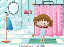 mädchen die im bad duschen mädchen die duschen in der