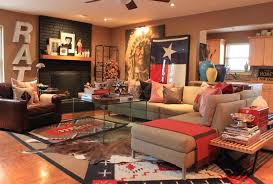 sumptuous coffee urn in living room southwestern with best red