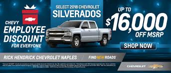 Rick Hendrick Chevrolet Naples | New & Used Chevy Dealership In ... Dave Smith Motors Custom Chevy Trucks Dealer Nh Chevrolet New Hampshire Banks This Dealership Will Build You A 2018 Cheyenne Super 10 Pickup Near Carol Stream Sunrise Welcome To Larry Clark Buick Gmc Cadillac In Amory Ms Mountain View And Used Chattanooga Tn Vermilion Is Tilton Joe Bowman Auto Plaza Harrisonburg Dealer North Park Castroville Los Angeles Gndale Pasadena 2017 Silverado 1500 For Sale Near West Grove Pa Jeff D Ram Truck San Gabriel Valley