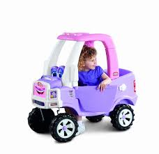 Amazon.com: Little Tikes Princess Cozy Truck Ride-On: Toys & Games