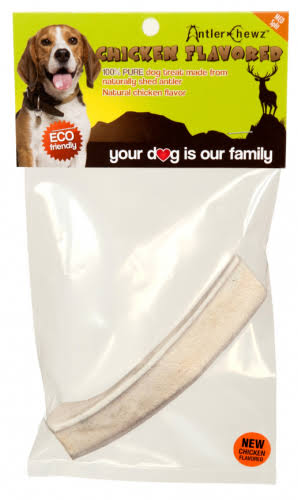 Antler Chewz Split Chicken Flavor Dog Treat - X-Large