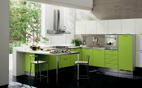 Yellow And Green Kitchen Ideas Simple Black Color