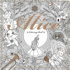 Alice In Wonderland Secret Garden Colouring Book For Adult Kids Creative Therapy Doodling Drawing Books Adhesive Binding Free Dhl Factory Coloring