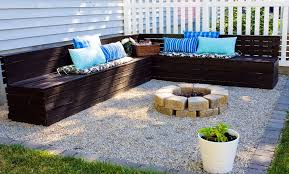 Pea Gravel Patio Images by Pea Gravel Patio Fire Pit Home Design Ideas