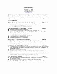 Production Resume Sample Luxury Bunch Ideas Video Rh Nickverstappen Com Objective Examples Controller