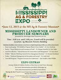 bureau am ag annual mississippi ag and forestry expo to be held at ms ag