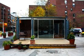 Shipping Container Prefab Home Pops Up in NYC s West Village