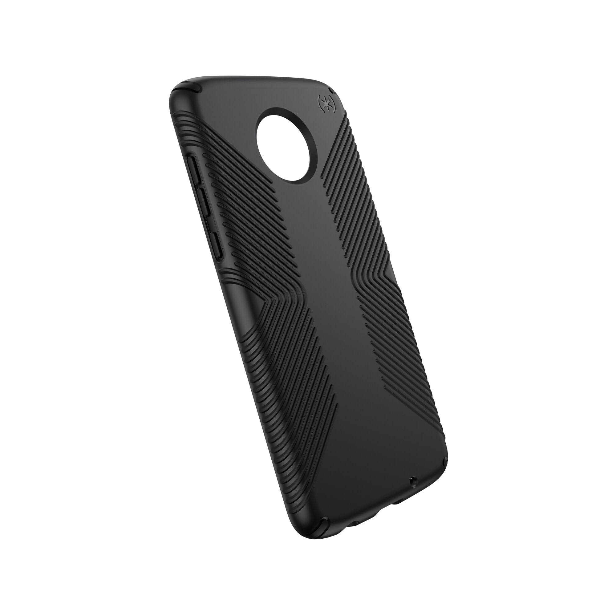 Speck Presidio Grip Case for Moto Z4, Black