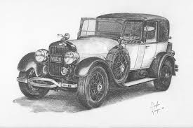 Gallery Pencil Drawings Of Old Cars