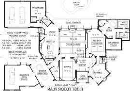 Architecture Design Blueprint House Plans Vector Illustration