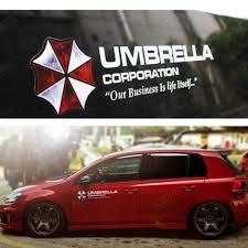 100 Custom Stickers For Trucks Car Sticker Decal Umbrella Corp Resident Evil Stick On