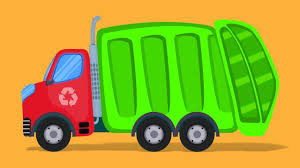 100 Trucks Cartoon Garbage Truck Formation Video For Babies Kindergarten