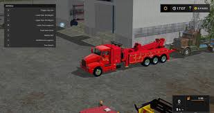Kenworth Tow Truck - Mod For Farming Simulator 2017 - Kennworth