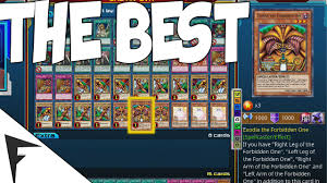 Best Exodius The Ultimate Forbidden Lord Deck by Yu Gi Oh Legacy Of The Duelist Best Deck In The Whole Game