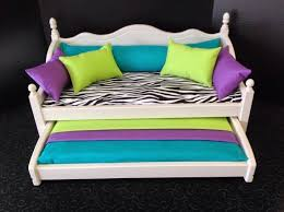 american doll trundle bed doll bed with trundle fits american