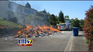 VIDEO: Garbage Truck Driver Forced To Dump Flaming Load In Bellevue ... Isuzu Garbage Compactor Video Trucks Toys Lego Models Thrash N Trash Productions Truck Simulator The Escapist Horrible Kidswith Wash Dailymotion Toy Cleanaway Launches 72 Trucks Across Central Coast As Part Of 10year Hungry Bear Rides Garbage Truck Abc11com Alphabet Learning For Kids Youtube Greyson Speaks Delighted By A