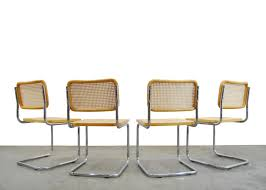 Set Of 4 'Cesca' Dining Chairs By Marcel Breuer, Italy 1996 ... 1970s Vintage Marcel Breuer Cesca Style Chairs A Pair Set Of 4 Ding By Paxton Upholstered Cream And Nutmeg 2 Knoll Intertional Laccio Table 5 Ding Chairs For Gavina Italy 1996 State Breuerstyle Chair In Chocolate What A Room Two Toned Hide Contemporary Pretty Old X Chair Tecta 1930s 40087