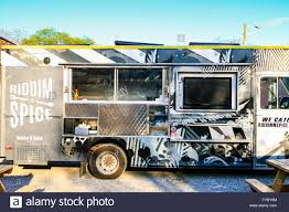 100 Food Trucks In Nashville Riddim Spice Food Truck S Only Mobile Kitchen Serving