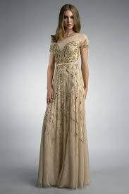 gold lace dress with sleeves naf dresses