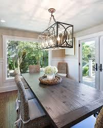 Rectangle Chandelier 7 More On Rectangular Dining Room Light Fixtures