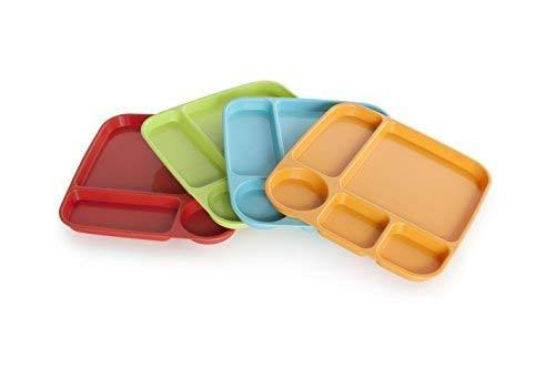 Nordic Ware Party Tray Set - Assorted Colors, 4pc