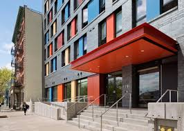 100 Alexander Gorlin Builds Colourful Housing For Single Bronx