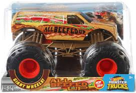100 Monster Truck Hot Wheels S All Beefed Up 124 DieCast Car Mattel Toys