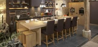 cuisine contemporaine bois massif cuisine chene massif moderne