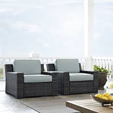 Shop Beaufort Outdoor Wicker Seating Set With Mist Cushions (Set Of ... Red Barrel Studio Dierdre Outdoor Wicker Swivel Club Patio Chair Cosco Malmo 4piece Brown Resin Cversation Set With Crosley Fniture St Augustine 3 Piece Seating Hampton Bay Amusing Chairs Cushions Pcs Pe Rattan Cushion Table Garden Steel Outdoor Seat Cushions For Your Riviera 4 Piece Matt4 Jaetees Spring Haven Allweather Amazoncom Festnight Ding Of 2