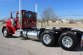 2018 Diamond Red 389 Peterbilt Day Cab | PeterbiltSteve.com