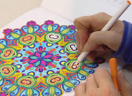 Coloring Book For Adults My Own World Kitty Rambles A Lot Adult Colouring Books