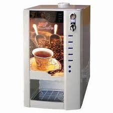 3 Selection Premix Coffee Tea Vending Machine With My Cup Function Images