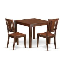 Oxford Mahogany Wood 3-Piece Dining Set | EBay Shop Psca6cmah Mahogany Finish 4chair And Ding Bench 6piece Three Posts Remsen Extendable Set With 6 Chairs Reviews Fniture Pating By The Professionals Matthews Restoration Tustin Chair Room Store Antoinette In Cherry In 2019 Traditional Sets Covers Leather Designs Dark Superb 1960s Scdinavian Design Rose Finished Teak Transitional Upholstered Mahogany Ding Room Chairs Lancaster Table Seating Wooden School House Modern Oval Woptional Cleo Set Finish Home Stag Extending Table 4