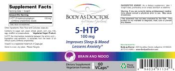 5 htp all natural anti depression and sleep aid