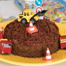einfache baustellen torte