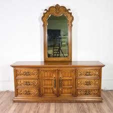 Drexel Heritage Dresser Mirror by Carved Long