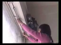how to install automatic electric curtain youtube