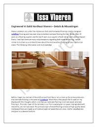 Engineered Vs Solid Hardhout Vloeren Details Misvattingen Many Customers Are Under The Impression That Floors Wood