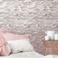 rosa tapete 3 m wellen papermint