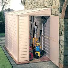 Outdoor Storage Plastic Plastic Vertical Outdoor Storage Shed