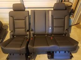 Suvs With Captain Chairs Second Row by Chevrolet Tahoe Questions Change 2nd Row Bench Into Captain U0027s